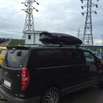 Установка багажника