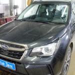 Установка сигнализации Pandora на ам Subaru Forester. (1)