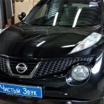 Установка ВЧ динамиков на ам Nissan JUKE.