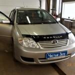 Установка автомагнитолы на ам Toyota Corolla. (1)