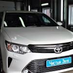 Установка сигнализации StarLine А93 с сохранением ключа на ам Toyota Camry. (1)