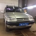 Установка сигнализации на ам Chevrolet Niva. (1)