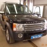 Установка видеорегистратора на ам Land Rover Discovery. (1)