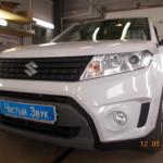 Установка сигнализации на ам  Suzuki Vitara. (1)