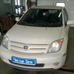 Установка сигнализации на ам Toyota XA. (1)