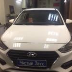 Установка видеорегистратора на ам Hyundai Solaris. (1)
