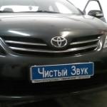 Установка сигнализации StarLine А93 и парктроников на ам Toyota Corolla. (1)