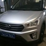 Установка сигнализации StarLine А93 на ам Hyundai Creta. (1)