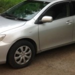 Установка видеорегистратора, парктроника на ам Toyota Corolla..