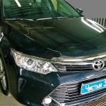 Установка активного сабвуфера на ам Toyota Camry. (1)