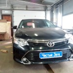 Установка Star Line A93 2 can 2 lin на Toyota Camry (2)