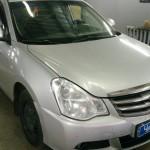 Установка автомагнитолы и динамиков на Nissan Almera