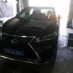 Установка комбо-устройства на Lexus RX (2)