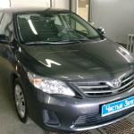 Установка регистратора на две камеры Toyota Corolla