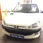 Установка видеорегистратора на Peugeot 206 (2)