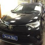 Бронирование порогов капота и ручек ам Toyota RAV4. (1)