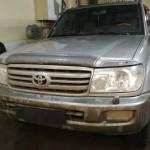 Установка автомагнитолы на ам Toyota Land Cruiser 100. (1)