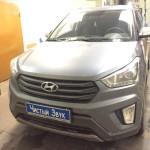 Установка монитора-накладка на зеркало и камеры заднего вида на ам Hyundai Creta. (1)