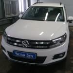 Установка сигнализации Pandora DX-90 на ам Volkswagen Tiguan. (1)