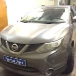 Установка системы парковки с датчиками слепых зон на ам Nissan Qashqai. (1)