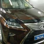 Установка усилителя и сабвуфера к штатной магнитоле ам Lexus RX 200. (4)
