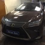 Установка замка на КПП ам Lexus RX. (1)