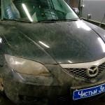 Установка замка на КПП ам Mazda3. (1)