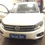 Установка замка на КПП ам Volkswagen Tiguan. (1)