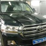 Установка замка на КПП и рулевой вал ам Toyota Land Cruiser 200. (3)