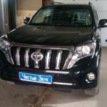 Установка сигнализации Призрак 8GL на ам Toyota Land Cruiser Prado. (1)