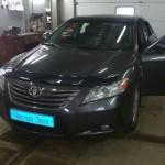 Установка сигнализации  StarLine А93 и I95 на ам Toyota Camry. (1)