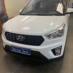 Установка датчиков парковки на Hyundai creta 1