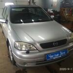 Установка магнитолы на Opel Astra (1)