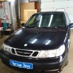 Установка магнитолы на Saab 9 (1)