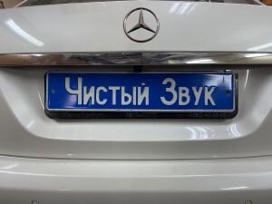 камера заднего вида на Mercedes E 1