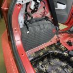 шумоизоляция багажника Kia Picanto 4