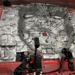 шумоизоляция багажника Kia Picanto 6
