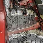 шумоизоляция багажника Kia Picanto 9