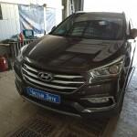 сигнализация Hyundai SantaFe (1)