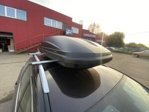 установка бокса Thule Mazda 6 2