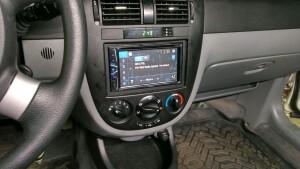 установка головного устройства Daewoo Gentra 3