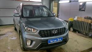 установка головного устройства на Hyundai Creta 1