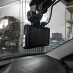 установка камеры на стелко на Toyota camry 3