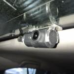 установка камеры на стелко на Toyota camry 5
