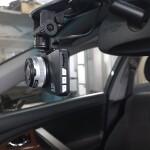 установка видеорегистратора на Toyota camry 4