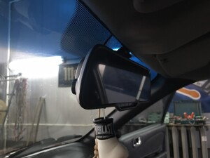 установка видеоргистратора на Toyota corolla 2