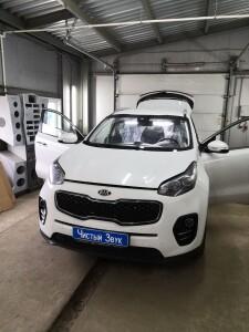 установка замка ка кпп Kia Sportage 1