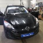 установка замка на кпп Mazda 3 1