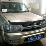 Установка акустики на Toyota HI lux 1