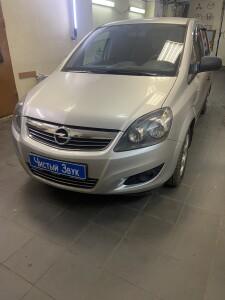 Установка парктроников на Opel Zafira 1